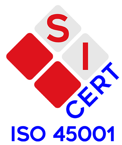 Certified company ISO 45001